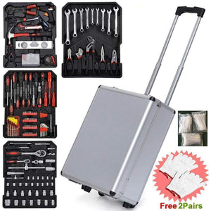 Carry Sturdy Aluminium Hand Tool Set