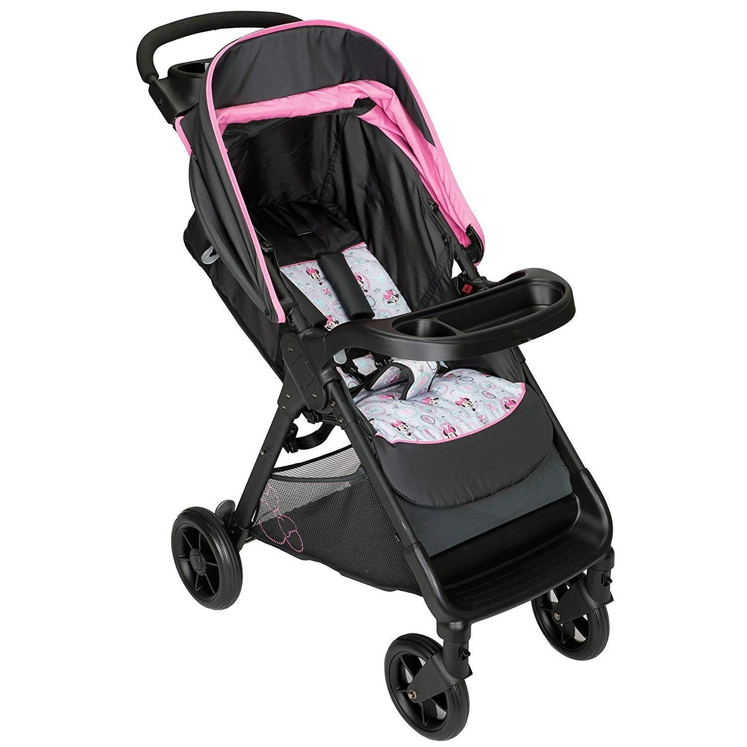 Infant Stroller With Flip Out Visor