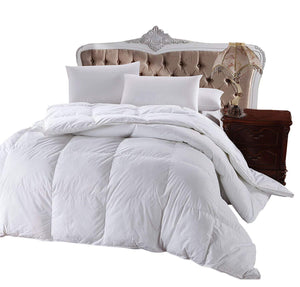 King Size Goose Down Alternative Comforter 100% Cotton