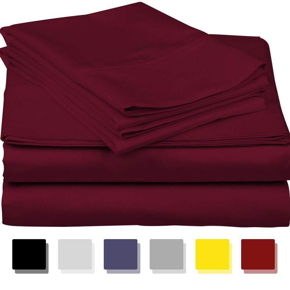 Luxury 100% Egyptian Cotton 1000 Thread Count 4 Piece Sheet Set
