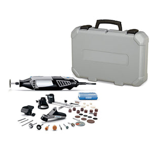 High Performance Rotary Tool Kit with Variable Speed Rotary Tool