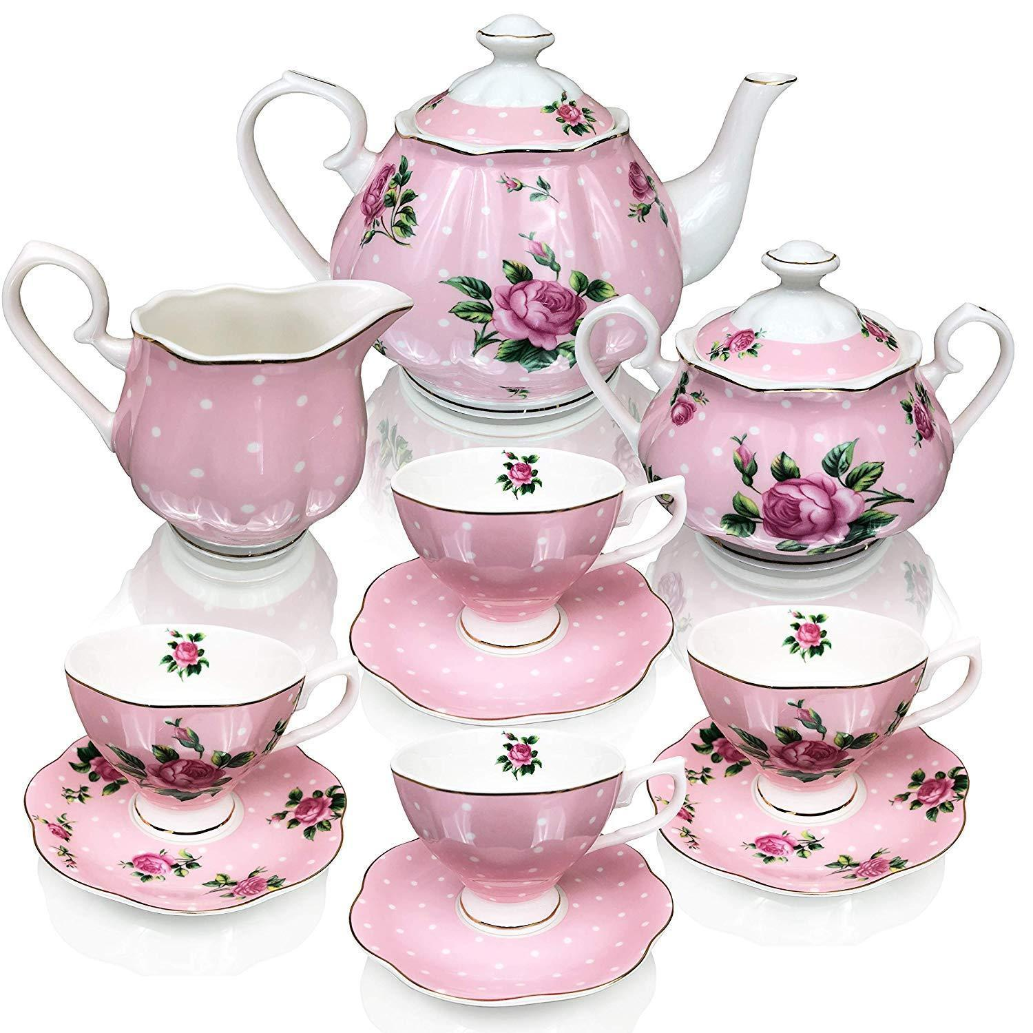 Porcelain Tea Cups Sets for Adults