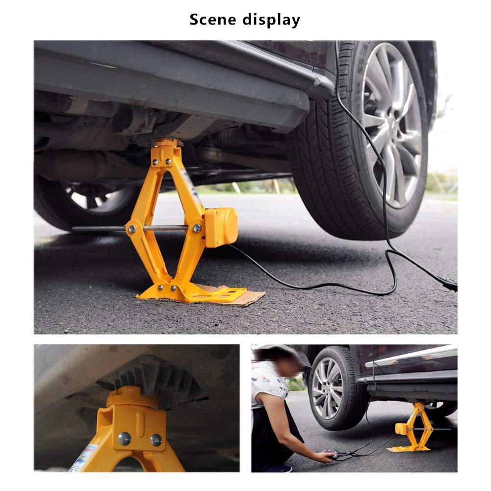 Car Jack Kit With Power Cord Battery Clip Woemart