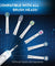 6000  Electronic Power Rechargeable Electric Toothbrush
