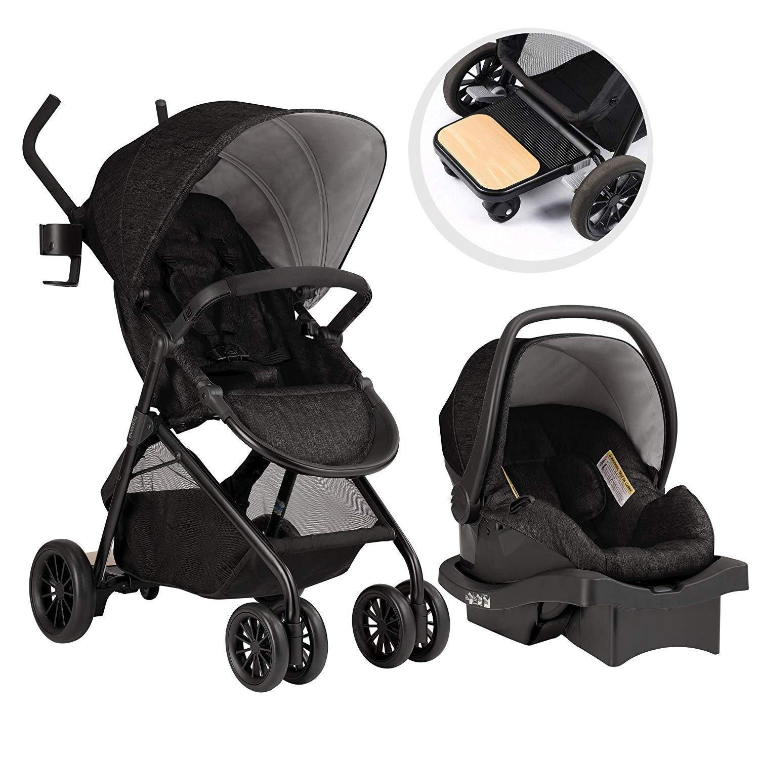 Baby Stroller With Extra-Long Sport Style Handles