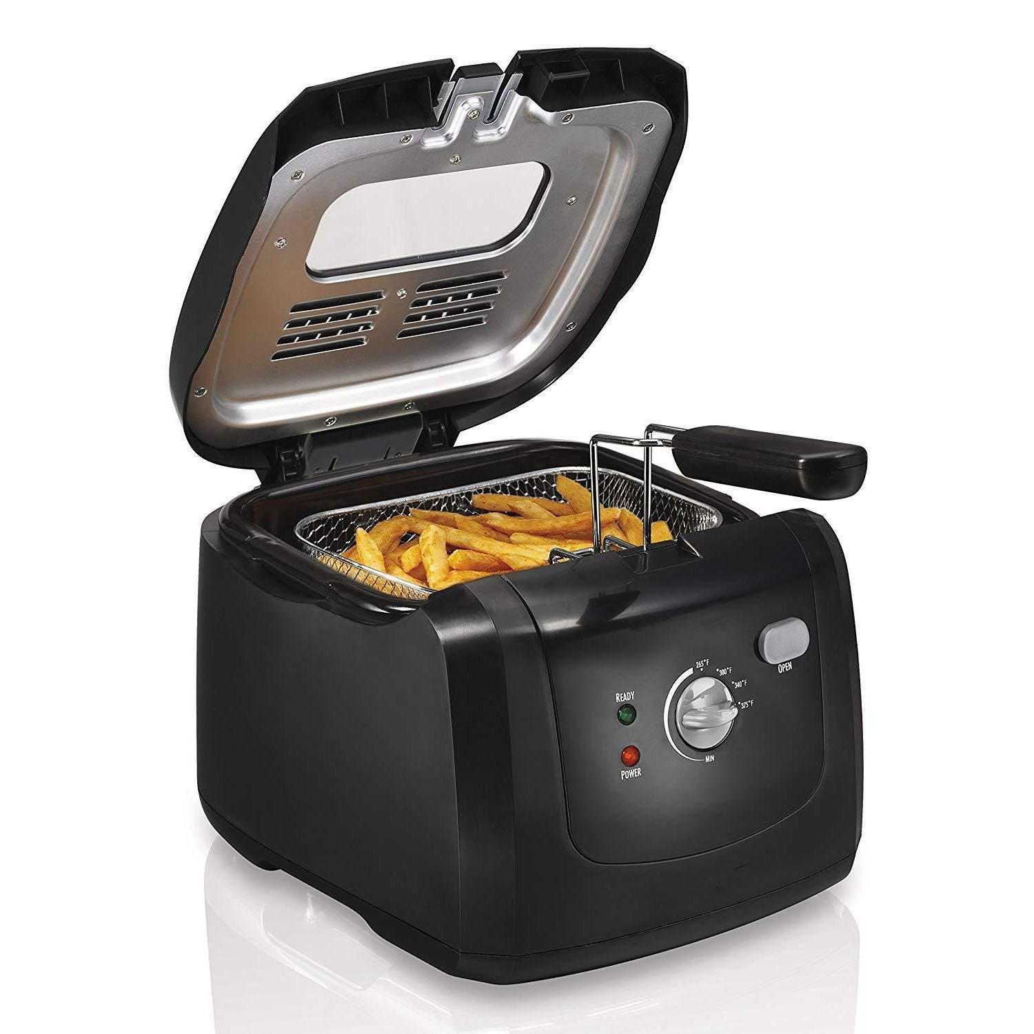 Fast Heat-Up Electric Deep Fryer