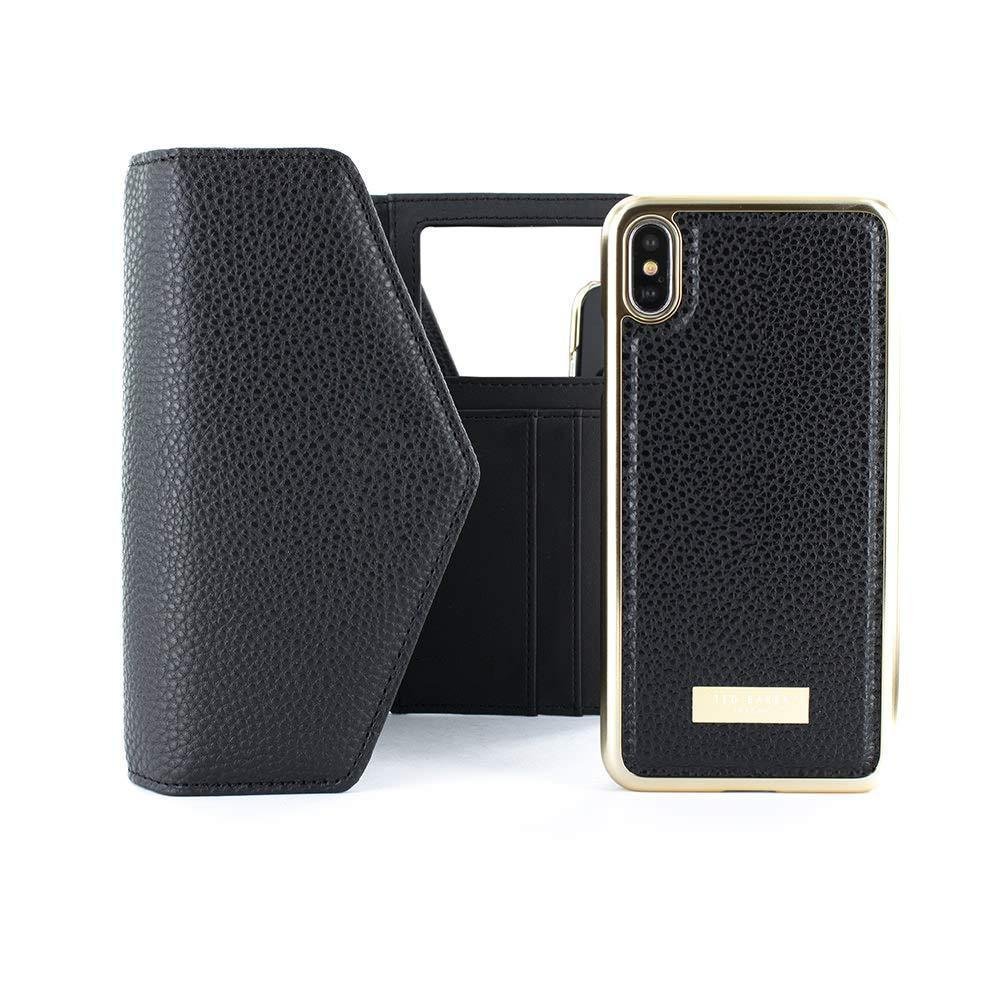 Fashion Scratch Resistant Crossbody Phone Case - Black