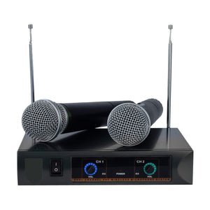 Dual Wireless Handheld Microphone