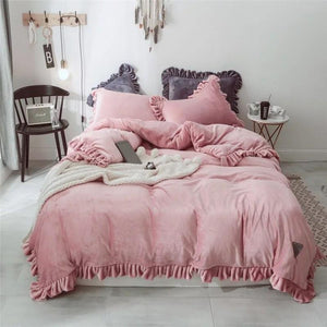 Luxurious Velvet Touch 4 Piece Bedding Set
