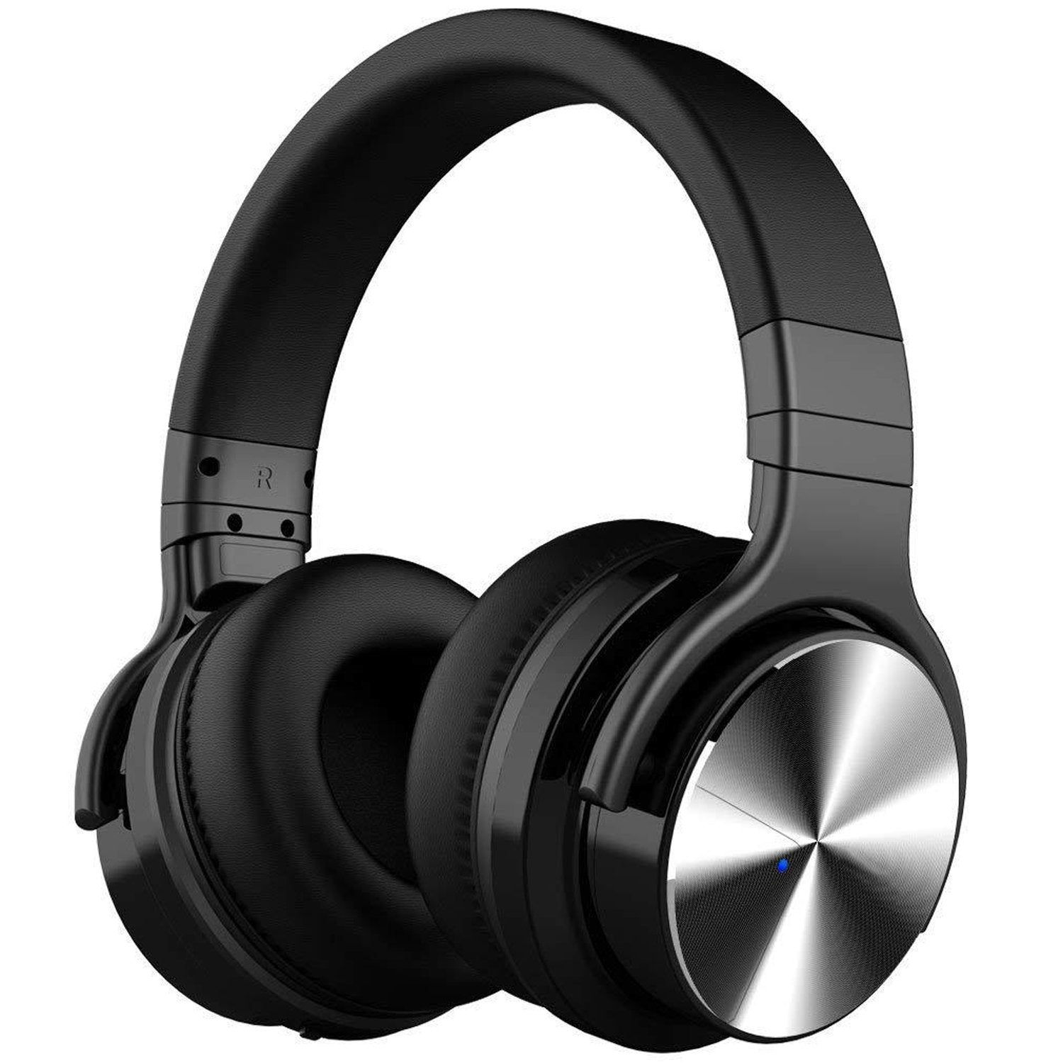 Bass Wireless Headphones - Black
