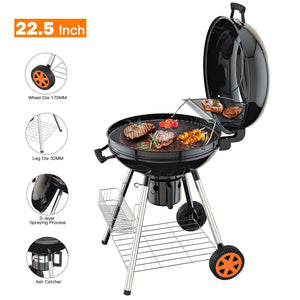 Double-Layer Grid Portable Grill