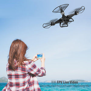 Wide-Angle 3D Flips RTF WiFi Quadcopter