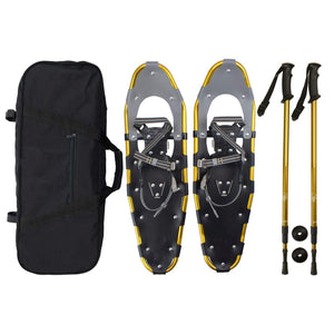 Lightweight Snow Shoes Carry Bag Adjustable Poles
