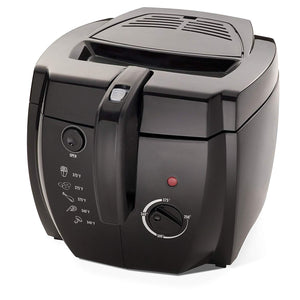 Cool-touch Deep Fryer - Black