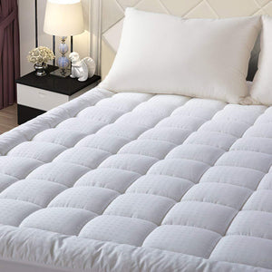 Hypoallergenic Down Alternative Filling Mattress Topper