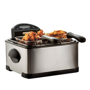 Compact Stainless Steel Electric Deep Fryer