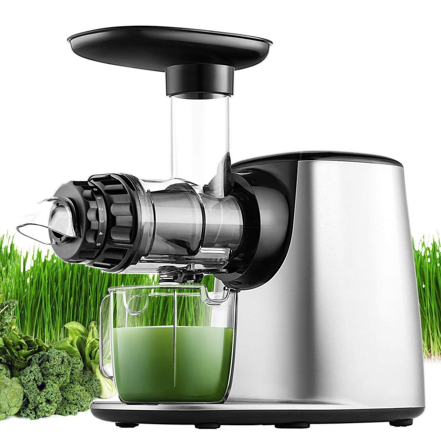 Dual Stage Juice Extractor With Reverse Function