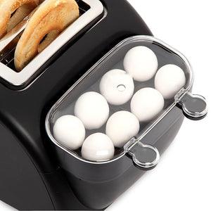 Quick Egg Bagel and Muffin Wide Slot Toaster