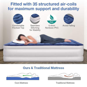 Portable Inflatable Air Mattress