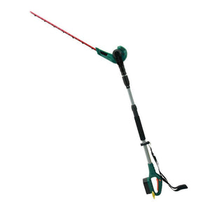 Cordless 2 in 1 Pole Hedge Trimmer with Rotating Handle