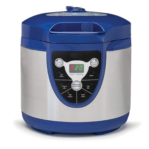 Stainless Steel Electric Pressure Cooker,Blue