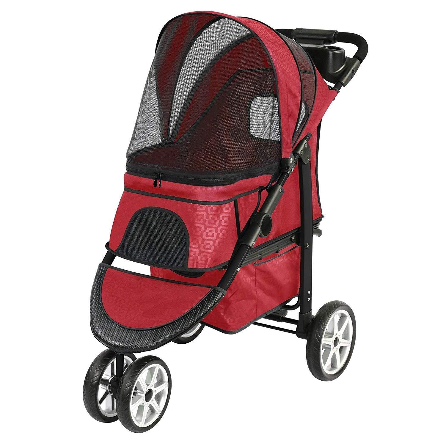 Lightweight All-Terrain Stroller For Dogs And Cats