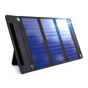 Waterproof Portable Solar Charger Panel With Dual USB Ports
