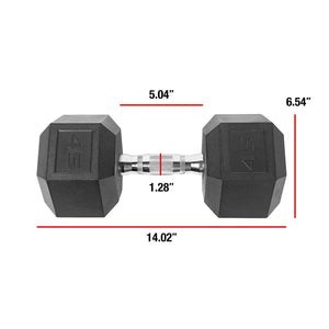 PVC Coated Dumbbell For Full Body