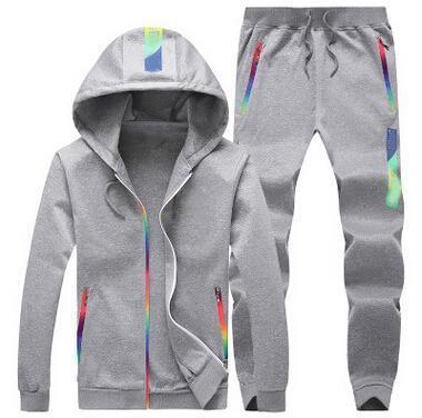 Sporting Suit Hooded Sweatshirt + pant Male 2 pieces set