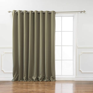Fashion Wide Width Insulated Blackout Curtain