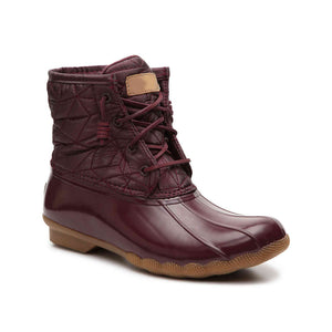 Fashion quilted nylon Boot
