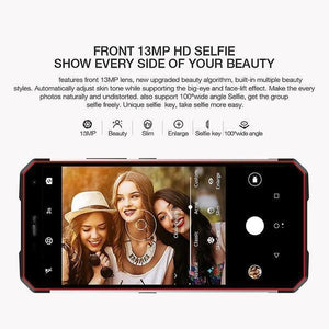 IP68 Waterproof 4G Smartphone 6GB+128GB