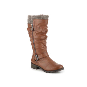 Wide Calf Riding Boot