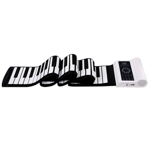 Roll Up Piano With Side Body Dual Speakers