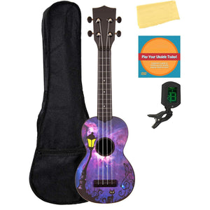 Matte Ukulele With Gig Bag