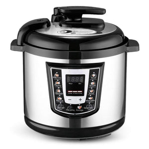 Electric Pressure Cooker with Stainless Steel Inner Pot