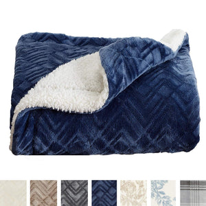 Sculpted Plush Luxury Blanket