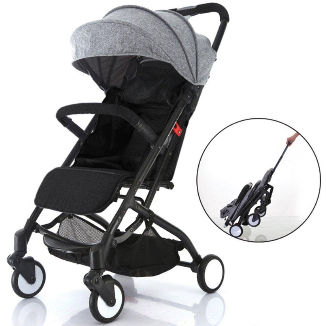 Lightweight Compact Travel Stroller - One Hand Fold