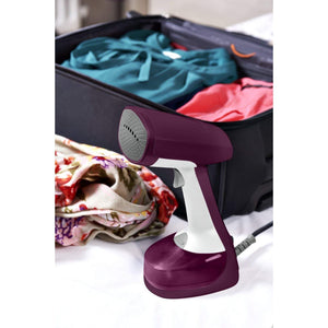 Hand-Held Garment Steam iron,Dual-Voltage,Purple