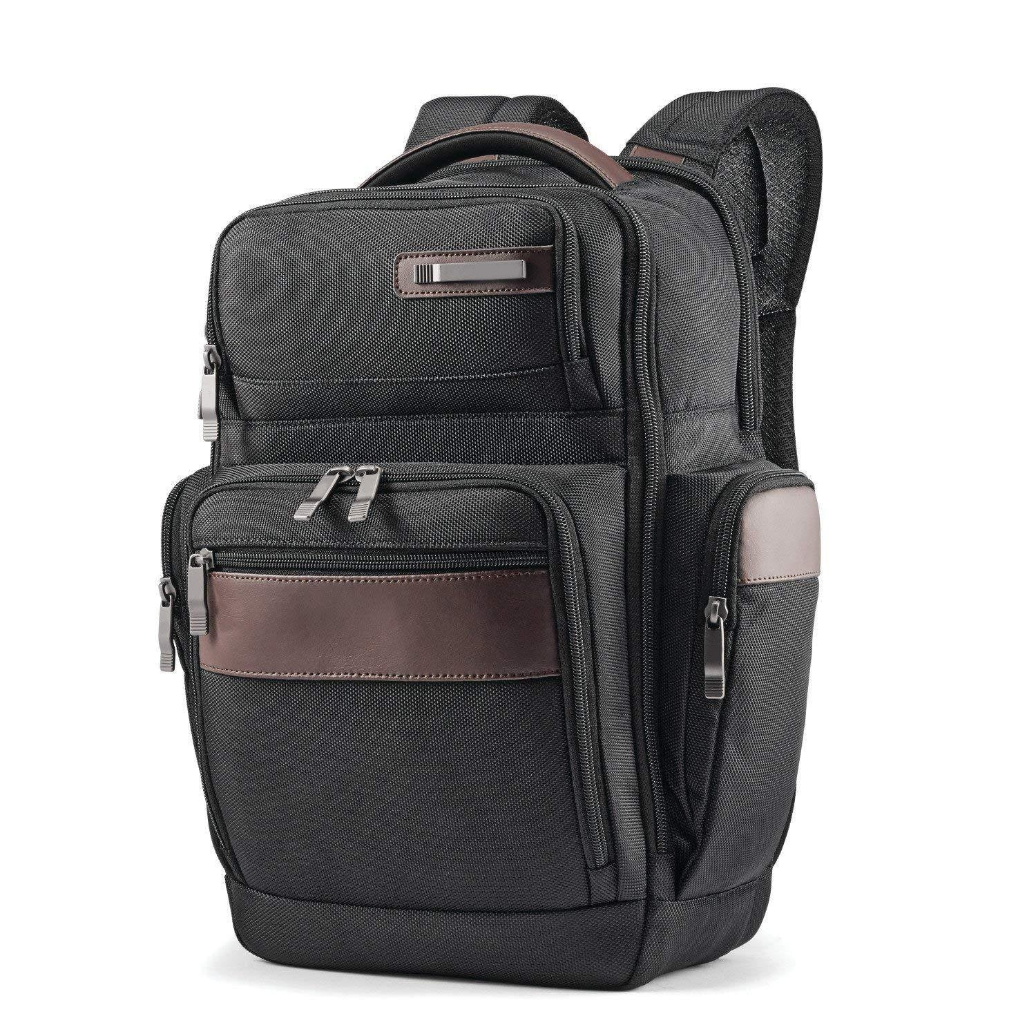 Multiple Zippered Quick Laptop Backpack