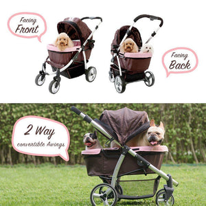 Dog Stroller for Large Dogs,Aluminum Fram