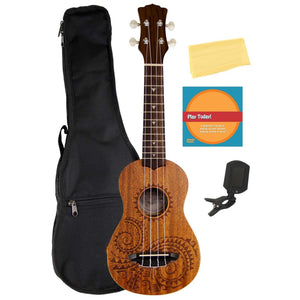 Mahogany Ukulele With Instructional DVD