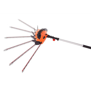 Multi-Angle Corded Pole Hedge Trimmer