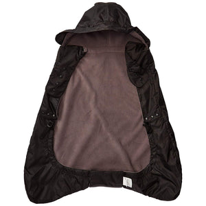 Fleece Lined Winter Weather Cover,Black