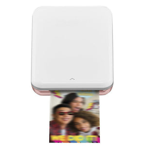 Portable Mini Photo Printer,Rose Gold