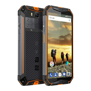 Waterproof Unlocked Cell Phone,Shockproof(Orange)