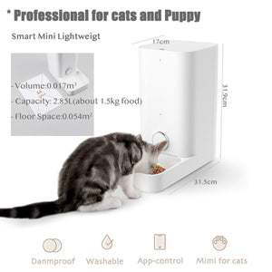 Wi-Fi Control Automatic Pet Feeder