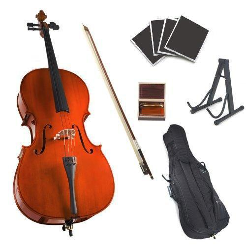 High-luster Cello With Soft Case(Full Size)