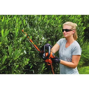 Hedge Trimmer With Full Wrap-Around Front Handle
