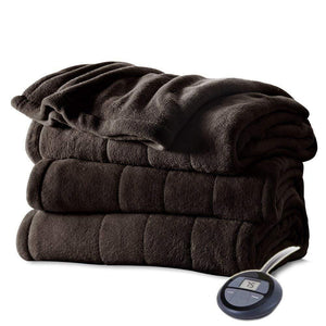Channeled Heated Electric Blanket